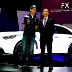 "Sebastian Vettel, ""Director de Performanta"" al Infiniti (video)"