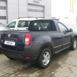 Dacia Duster transformed into a pick-up truck