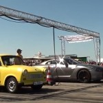 Trabant VS Nissan GT-R – Cursa de 400 metri (video)